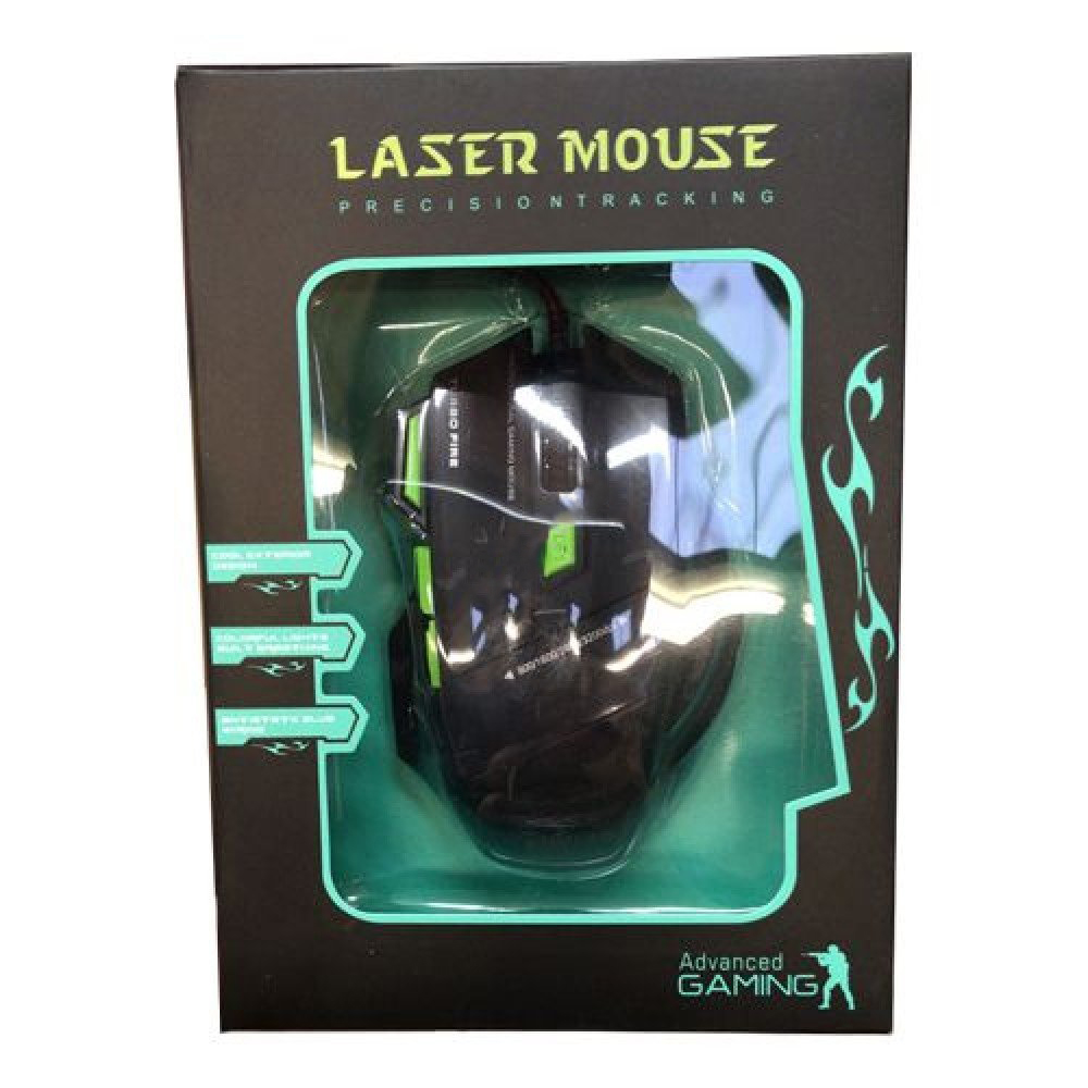 FC-1590 Wired Laser Mouse
