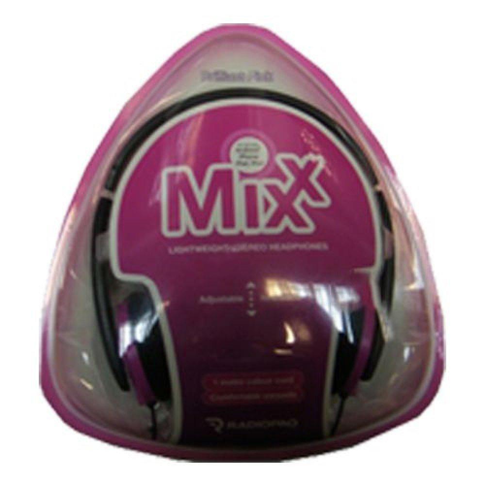 Radiopaq MIXX Lightweight On Ear Headphones Pink