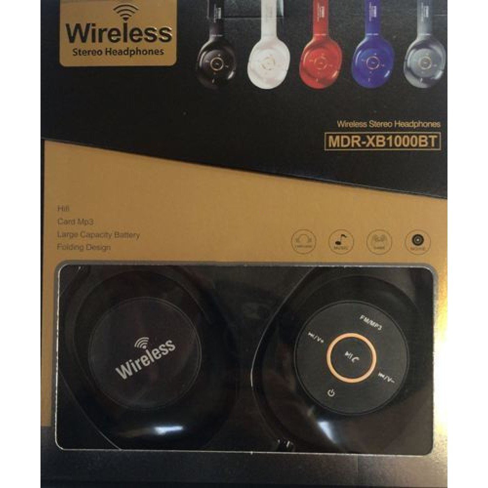 Wireless Stereo Headphones MDR-XB1000BT