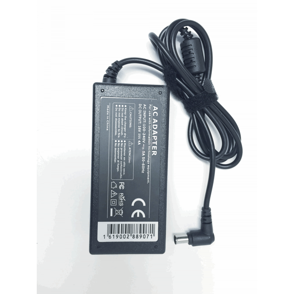 Sony Compatible 16V 4A 65W 6.5x4.3mm tip