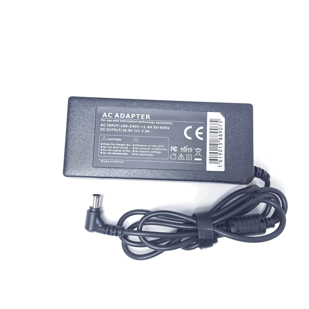 Sony Compatible 19.5V 3.95A 75W 6.5x4.3mm tip