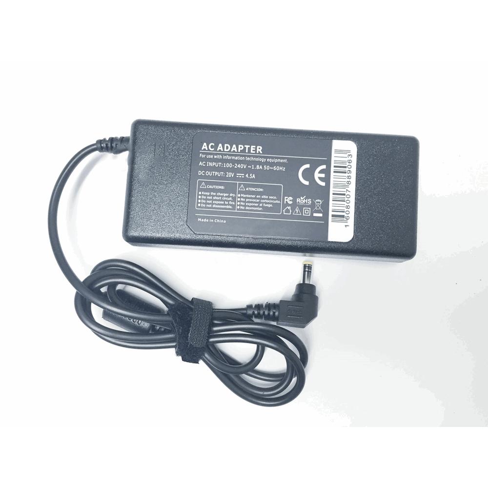 Fujitsu Compatible 20v 4.5A 90W 5.5x2.5mm tip