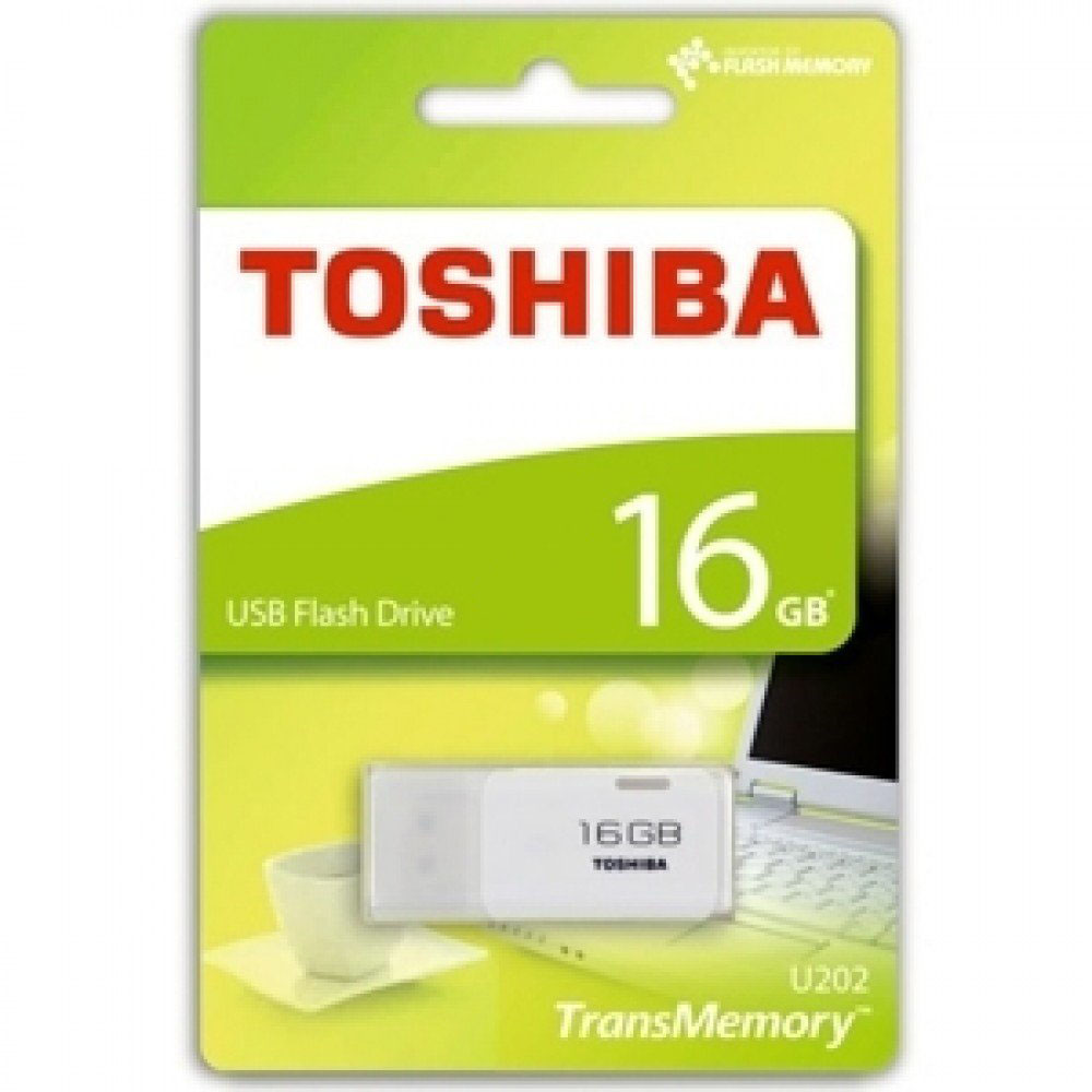 Toshiba 16GB USB 2.0 Flash Drive
