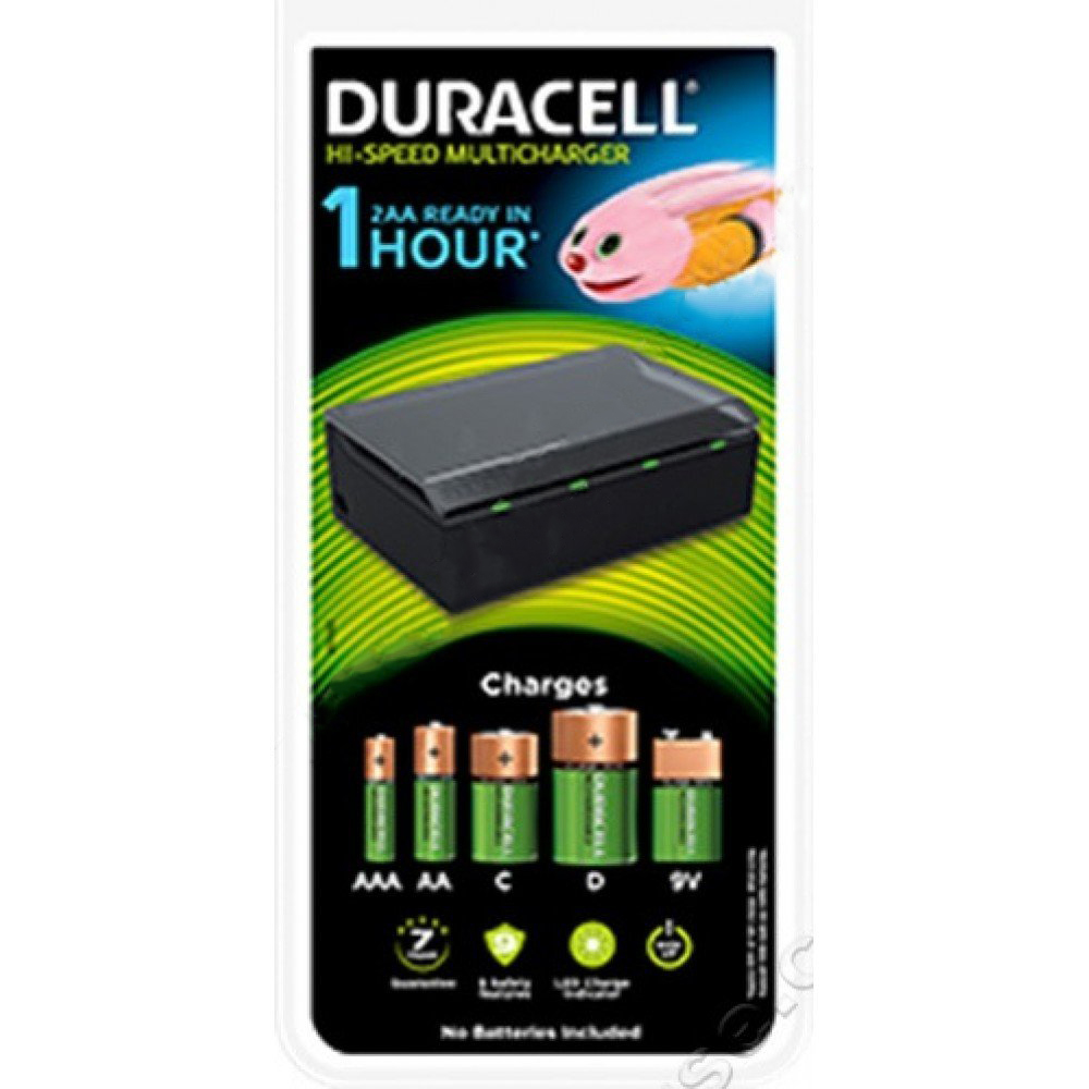 Duracell 81362493 CEF22 3 Hour Multi Charger