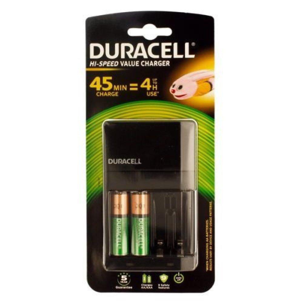 Duracell 45 min AA/AAA Battery Charger