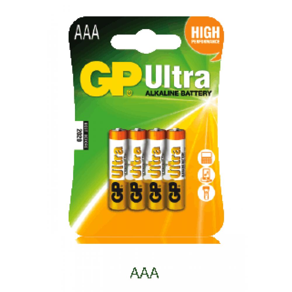 GP LR03B4 AAA Ultra Alkaline Battery