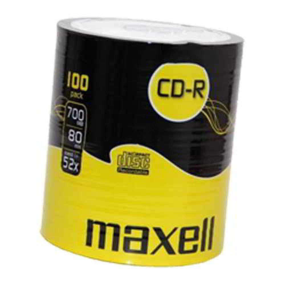 Maxell CD-R - 100 Spindle