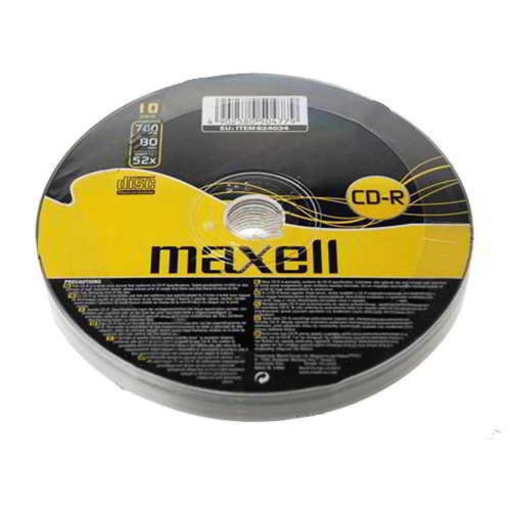 Maxell CD-R 10 Shrink Pack