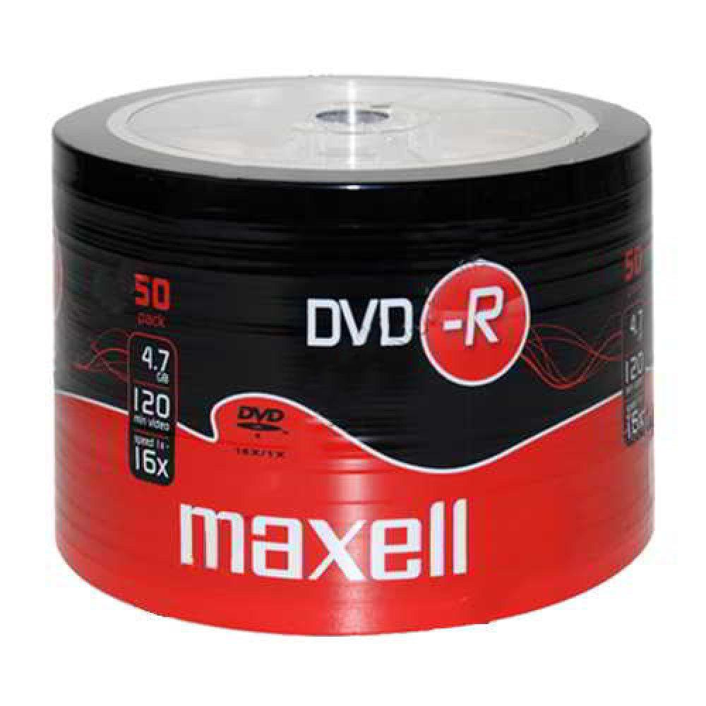 Maxell DVD-R 50 Shrink Pack