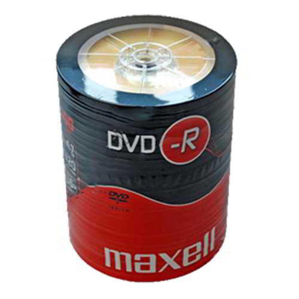 Maxell DVD-R 100 Shrink Pack