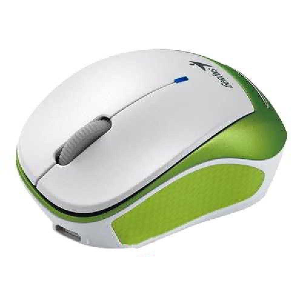 Genius Wireless Micro sized Mice Micro Traveler 9000R Green