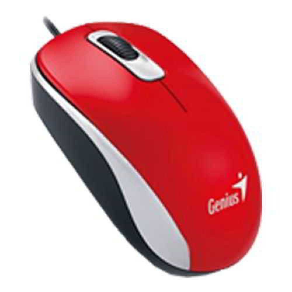 Genius DX-110 USB Mouse - Red