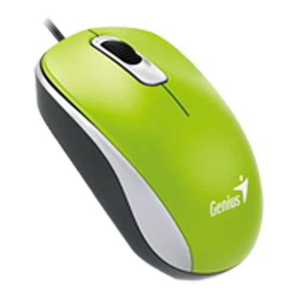 Genius DX-110 USB Mouse - Green